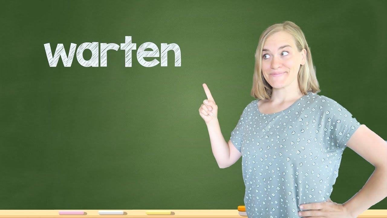 Download German Lesson (126) - warten • erwarten • abwarten • erwartungsgemäß - B1/B2