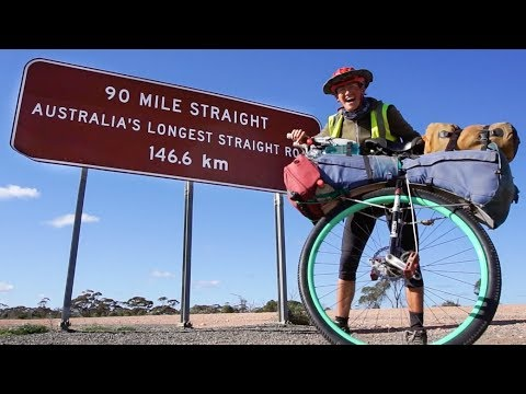 Tim Palmer - Unicycling Across Australia