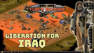 Red Alert 2 - Liberation For IRAQ - Islands gameplay