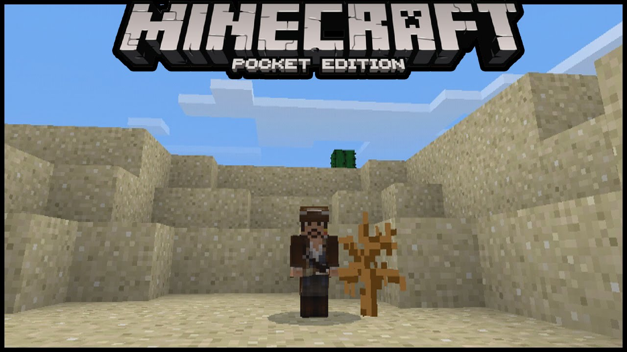 How To Become Baby Size In MCPE Minecraft Pe Pocket Edition - Skin fur minecraft pe erstellen