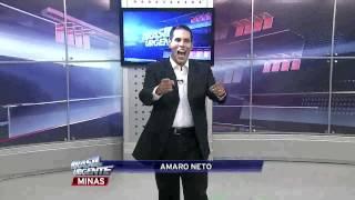 Estreia de Amaro Neto no Brasil Urgente MG