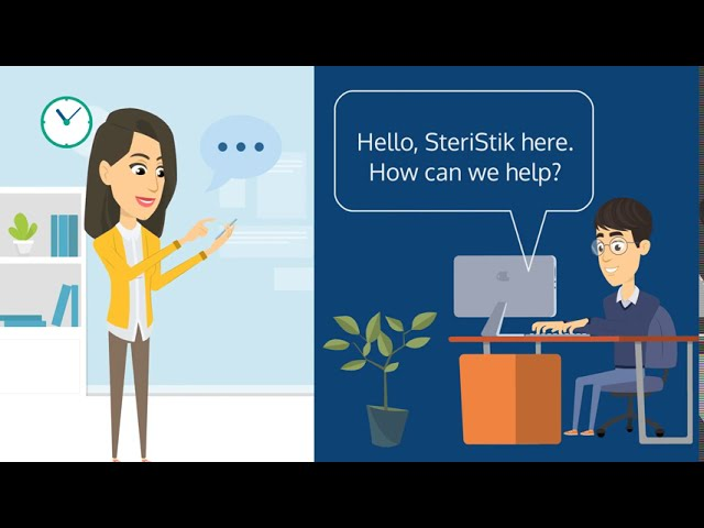 SteriStik Antimicrobial Covers - Animation