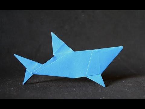 Origami Simple Shark Mr Yukihiko Matsuno Youtube