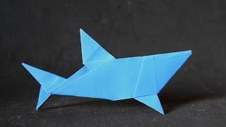 Origami: Simple Shark (  Mr. Yukihiko Matsuno  ) thumbnail