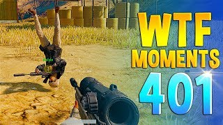 PUBG Daily Funny WTF Moments Highlights Ep 401