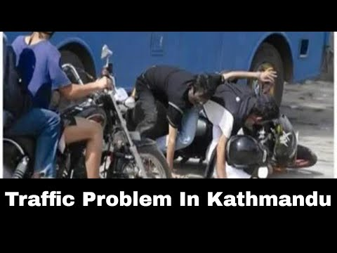 Traffic Problem In Kathmandu