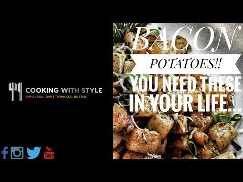 BACON POTATOES!! You NEED these in your life....