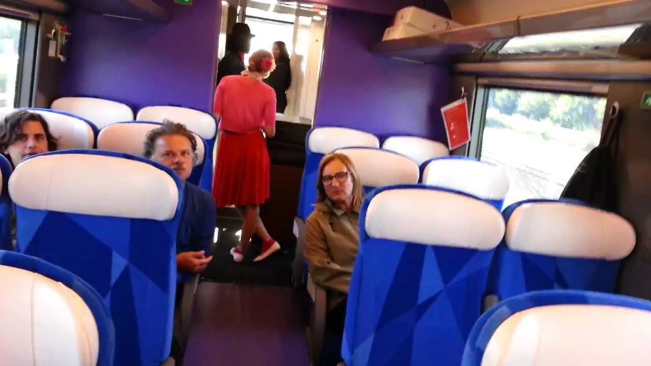 First commercial Fyra V250 ride (interior video) - YouTube