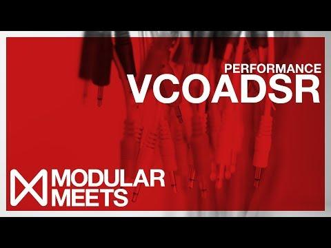 VCOADSR Performance // Modular Meets Leeds 2017