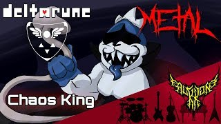 DELTARUNE - Chaos King 【Intense Symphonic Metal Cover】