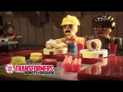KRE-O Transformers - Hibachi Chef