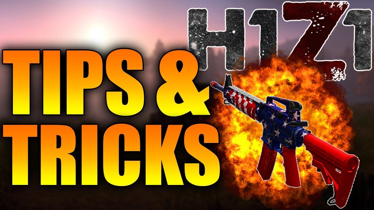 h1z1 beginner tips and