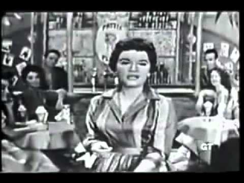 Connie Francis Who S Sorry Now 1958 Live Tv Youtube