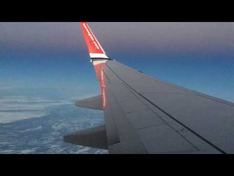 Meteor Falling to Earth Captured on Phone Above Sweden From Plane