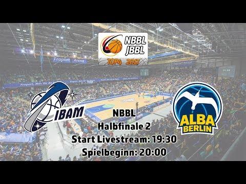 NBBL Halbfinale 2: Internationale Basketball Akademie München vs. ALBA Berlin