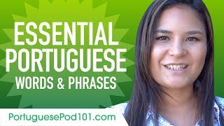 Essential Portuguese Words and Phrases to Sound Like a Native