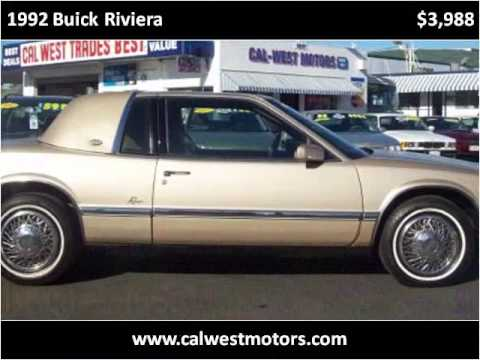1992 buick riviera used cars oakland san leandro bay area for Cal west motors san leandro ca
