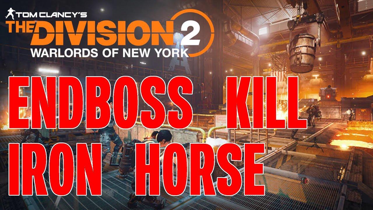 The Division 2 ENDBOSS KILL - RAID Deutsch German Stahlross Iron Horse Boss 4 Kill Charles Army CAR