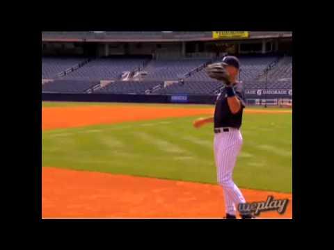 Backhand And Throw Drill - Derek Jeter
