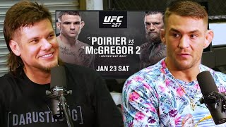 Theo Von Sits Down w/ Dustin Poirier Before Rematch w/ Conor McGregor