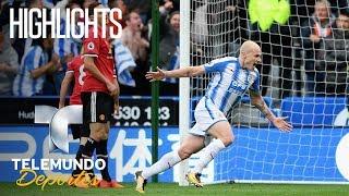Highlights: Huddersfield 2 – Manchester United 1 | Premiere League | Telemundo Deportes