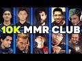 10.000 MMR CLUB - ALL 10k MMR Players BEST Plays Compilation Dota 2