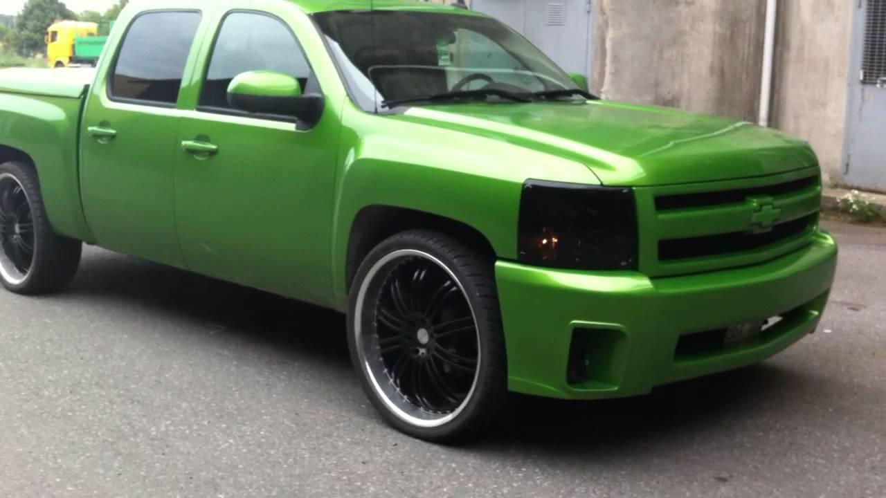 """Chevrolet Silverado Z71 on 26"""" - YouTube"""