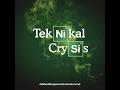 Teknikal Crysis - The Bedtime Stories s1-e06 (4-07-2017)