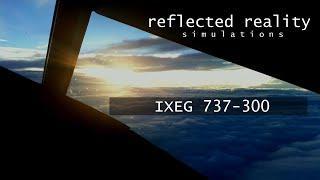 IXEG 737 LFMN VNav [X-Plane] - Шок видео с ютуба