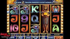 Gameplay - Pharaoh's Secret Online Slots Review
