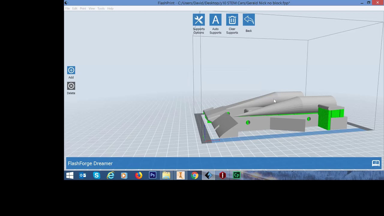 how to convert your CAD model to Gcodes for 3D printers