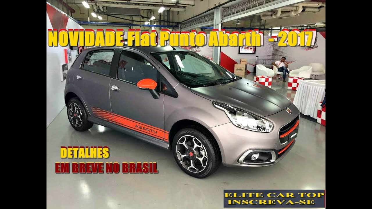 Flagra Fiat Punto Abarth 2017 Detalhes Youtube