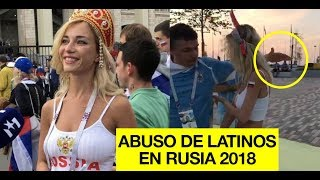 Campeones del machismo:  Aficionados Latinos ofendiendo y aprovechándose de mujeres en Mundial