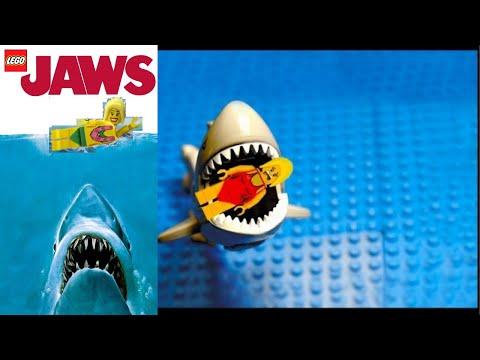 LEGO JAWS Shark Attack - FUNNY!