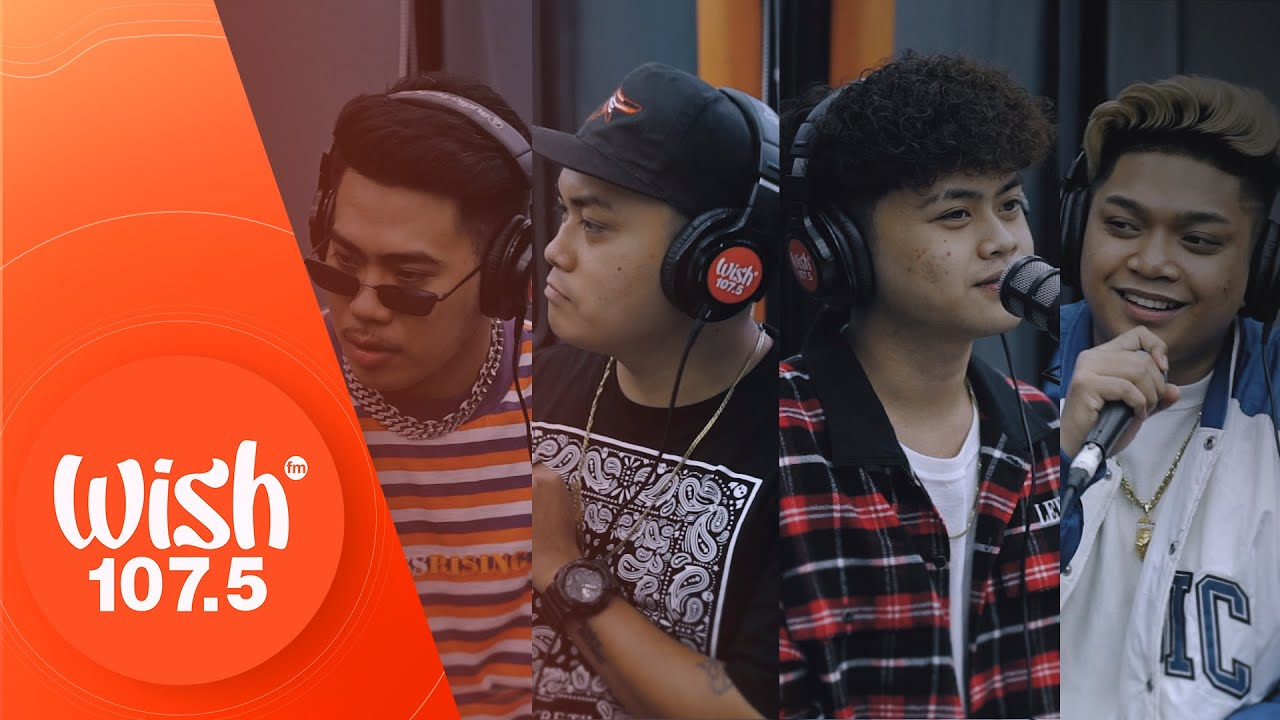 """ALLMO$T performs """"Tampo"""" LIVE on Wish 107.5 Bus"""