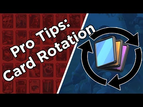 Clash Royale | Pro Tips and Card Rotation | Advanced Strategy