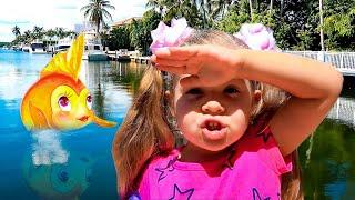 Diana y los juguetes del pez dorado
