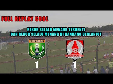 FT Replay Gool PERSIBO 1 1 BLITAR POETRA | Sport News