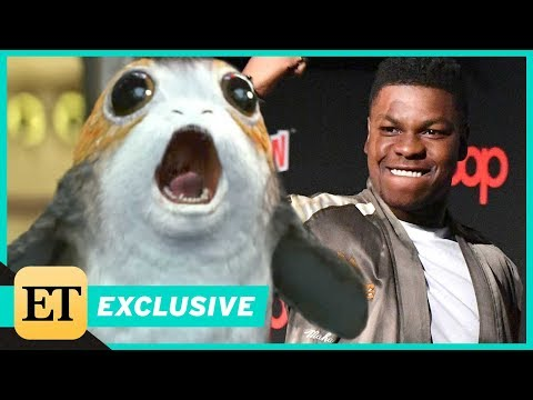 Download Youtube: EXCLUSIVE: 'Star Wars' Actor John Boyega on Porgs: 'They're Rodents, But They're Great'