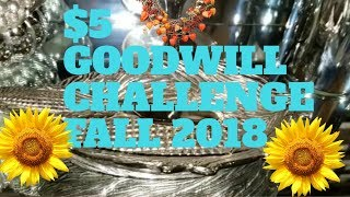 💎🍁$5 FALL 🍁🍂GOODWILL CHALLENGE HOSTED By Old World Home