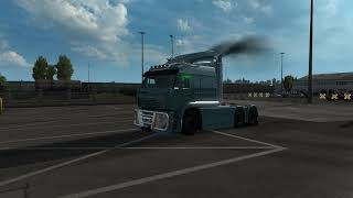 Download From https://sharemods.com/gm58lux4u7n5/kamaz.zip.html    Details   Standalone truck, sold at a Volvo dealership  - 1 cab - Its interior - Advanced tuning - Metallic paint support - Own sound - Cable support  Fixed the left mirror Replaced cables Added engine sounds
