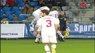 Goal of the year 2010 - Hamit Altintop vs Kazakhstan - HD