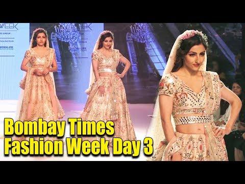 Soha Ali Khan LOOKS like a PRINCESS on Ramp at Bombay Times Fashion Week Day 3