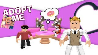 🍩 I OPEN MY ROSQUILLAS STORE AND LEAVE WITHOUT PAYING! 💰 ROBLOX ? ADOPT ME