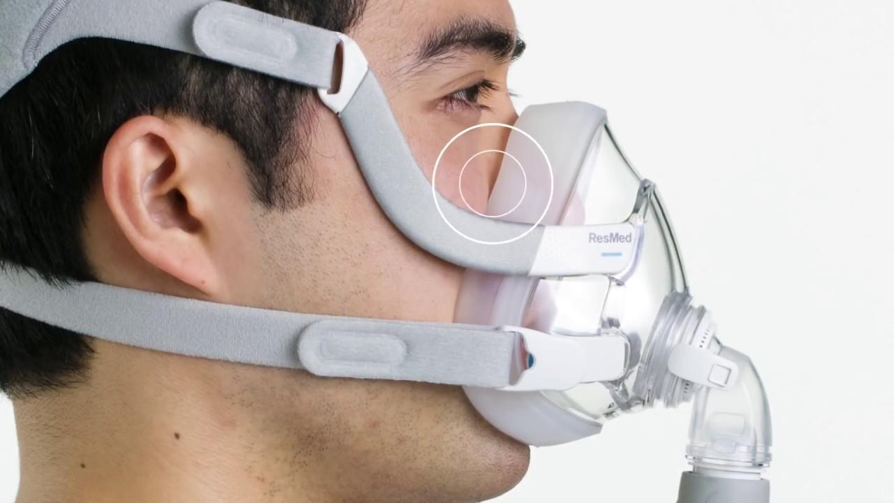 Airtouch F20 Cpap Mask The Ultrasoft Memory Foam Cushion Directhomemedical Com
