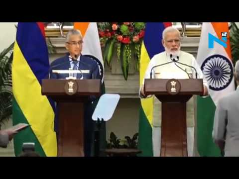 India, Mauritius exchange MoU