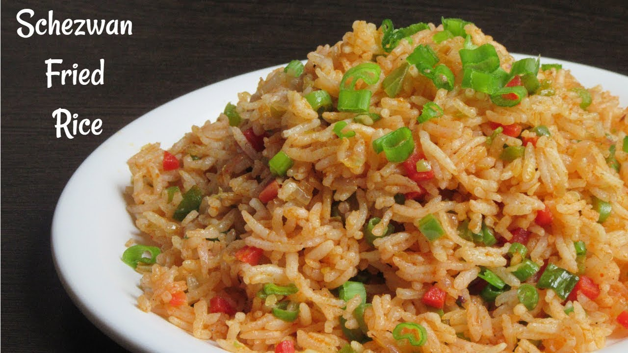 Schezwan Fried Rice Recipe | Veg Schezwan Fried Rice | Quick Chinese Recipe