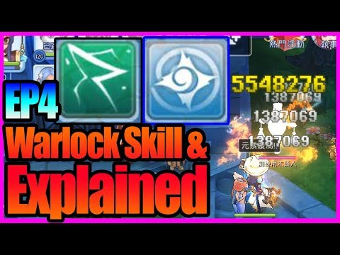 EP4- Warlock Skill Preview with Rune upgrade [Ragnarok M Eternal Love]