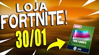 SHOP FORTNITE-TODAY'S STORE 30/01/2019 NEW SKIN FOR WEAPONS!
