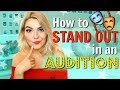Gambar cover How to Stand Out in an Audition